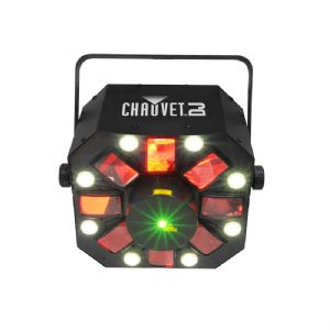 Chauvet Swarm 5 FX 3 in 1 LED Light Rgbaw + Red Green DJ Laser 2 Year Warranty